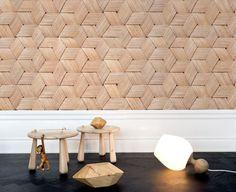 Birch Bark Braids Wallpaper Design on The Life Creative