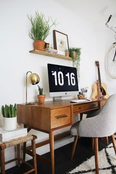 Best home office desks Furniture Bohemian Mid Century Home Like No Other Holly Homer 323 Best Home Office Ideas Images In 2019 Desk Ideas Office Ideas