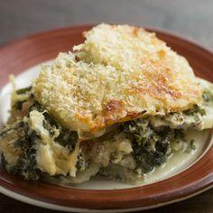 Creamy Potato Kale Gratin Recipe by Tasty