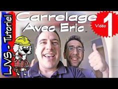 CARRELAGE AVEC ERIC - (PARTIE 1) - CARRELAGE DOUCHE - BLABLA CONSEILS ET AMBIANCE CHANTIER - LJVS - YouTube