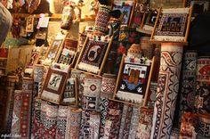 Azerbaijan Rugs in the Old City, Baku
