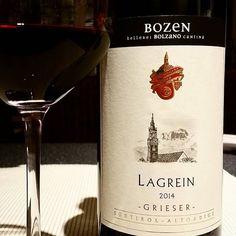 Lagrein Grieser von der Kellerei Bozen aus Südtirol 2014 #lagrein #kellereibozen #südtirol #altoadige #bolzano #rotweintrocken #weinkultur #autochthon #typisch #genusspur #leckerwein #grieser