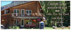 Blue Creek Lodge - Wagon Wheel Gap, Colorado - Robert likes the pies