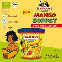 """""""YAKARI Bio Mango Sorbet von Helador * GLUTENFREI * LAKTOSEFREI * VEGAN *"""""""