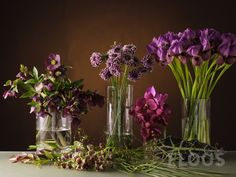 In this floral recipe Timo Bolte shows us how to create interesting textures with raffia and combine it florally with a very special selection of flowers. Ufo, Glass Vase, Workshop, Texture, Floral, Flowers, Image, Design, Surface Finish