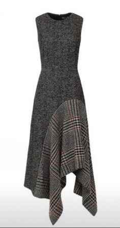El tejido de la cinta la ropa A la moda y el diseño del interior por las manos Diy Dress, Dress Skirt, Hijab Fashion, Fashion Dresses, Robes Glamour, Diy Kleidung, Diy Mode, Winter Dresses, Dress Winter