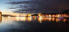"""Bergen """"by night"""""""