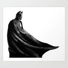 Batman. Drawing by me. Buy it now!