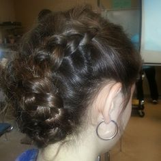 Photo by blazesymone right side view of the braids and pinnjng