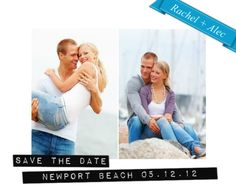 Save money by sending a picture message Save the Date!