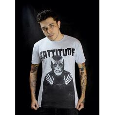 Cattitude Shirt by Western Evil