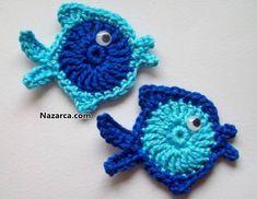 verschiedene Ideen – Kristina Dalinkevičienė – Picasa-Webalben – Seniye – Join the world of pin Crochet Fish, Crochet Turtle, Crochet Eyes, Crochet Birds, Love Crochet, Crochet Motif, Crochet For Kids, Crochet Flowers, Crochet Baby