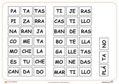 completar palabras con silabas - Buscar con Google