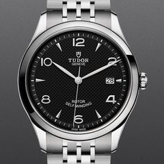 The new Tudor 1926 in black appeals to me. Could it be Tudor's new and more affordable alternative to the Rolex Explorer with it's 100m… Rolex Explorer, 100m, Tudor, Other Accessories, Omega Watch, Watches For Men, Black, Alternative, Hands