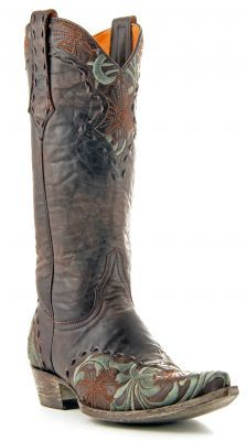 Womens Old Gringo Erin Boots Chocolate #L640-1 via @allen sutton Boots