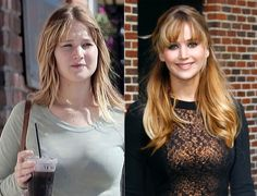 Jennifer Lawrence 'Hunger Games' star without her makeup.