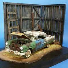 Weathered 55 Chevy