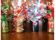I made these for a fundraiser at church! Sold for $10 a can... they could have gone for more!