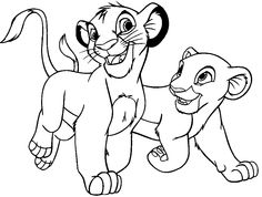 The 24 best Lion King Coloring Pages images on Pinterest | Kids net ...