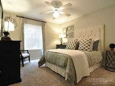 Get The Albuquerque Apartments for Your Life Style: Fancy Photo Albuquerque Apartments In Master Bedroom With King Size Bed Decorative Pillow Also Alured Bed Side Table With Vase Ceiling Fans With Lights As Well Dressing Table ~ surrealcoding.com Apartments Inspiration