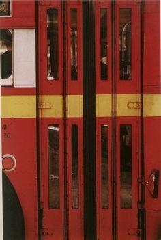 Autobus Saul Leiter, 1950