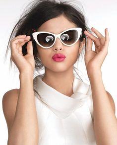 ab2f7278640 Tom Ford Nikita + Selena Gomez White Sunglasses