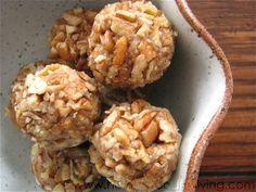 Apple Crisp Truffles Recipe (Healthy Food For Living)