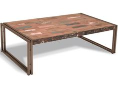 Titanic Rectangle Coffee Table | Upcycled Furniture | Bedsite