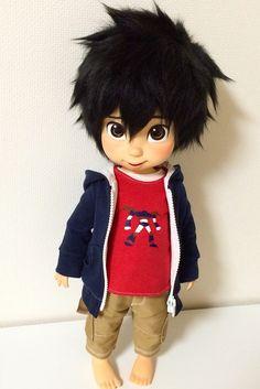 Hiro Hamada custom painted Disney Animators' doll