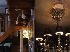 Uma decoração ousada e incrível. Veja: http://www.casadevalentina.com.br/blog/materia/chez-airys.html  #decor #decoracao #interior #design #modern #moderno #casadevalentina #art #arte