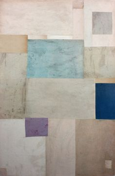 Cecil Touchon - Fusion Series #2904 - collage on paper - 2010