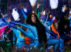 Performers dance during the Opening Ceremony at the 2012 Summer Olympics, Friday, July 27, 2012, in London. Photo: Matt Dunham / AP