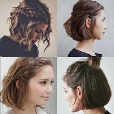 Easy Hairstyles For Short Hair New Short Hair Do's  10 Quick And Easy Styles  Short Hair Shorts And