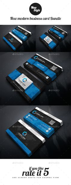 New Modern Business Card Bundle - Creative Business Card Template PSD. Download here: http://graphicriver.net/item/new-modern-business-card-bundle/12141670?s_rank=1797&ref=yinkira