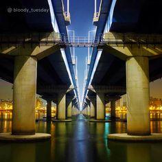 #새벽 에 #음악 들으면서 혼자 #마포대교 #걷기  #Walking #Mapo #Bridge #alone while listening to #music at #dawn  #tech #build #bridge #early_morning #walk #river #hangang #daily #date #Korea #regram #Hyundai_Engineering_Construction #현대건설 #다리 #마포 #대교 #감성 #일상 #리그램 #리스타그램