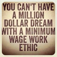 Work ethic! Let your work speak for itself... It speaks volumes. Whatever job... Just do it well. #motivation #purpose #quotes #determination #life #workethic