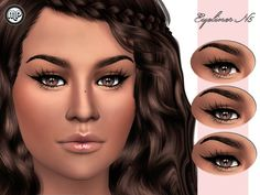 MP Eyeliner N5 at BTB Sims – MartyP via Sims 4 Updates