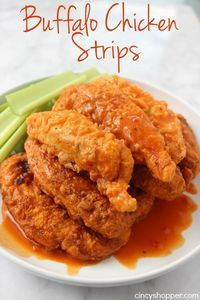 Buffalo Chicken Strips | Community Post: 15 Scrumptious Ways To Eat Chicken Strips Like An Adult