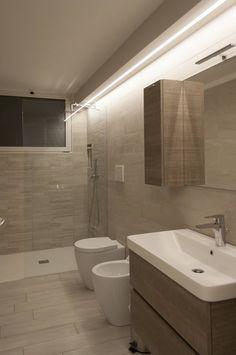 Arredo Bagno doppio lavabo in cristallo da 210 cm (vari colori ...
