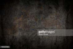 Black concrete background.