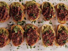 Get Tapenade Crostini Recipe from Food Network