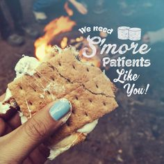 HAPPY S'MORES DAY on August 10th! We love our patients, and we're always excited to meet s'more! Do you know anyone who's looking for an orthodontist?