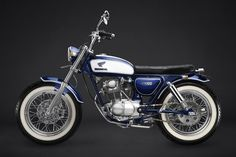I think I would like a lighter blue, but the frame looks pretty good color matched to the tank. Probably helps that there is a lot of white on the tank for contrast. Honda CB100