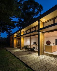 Redhead Alterations - contemporary - exterior - other metro - by Bourne Blue Architecture Residential Architecture, Interior Architecture, Interior Design, Louvre Windows, Pergola, Cladding, Villa, Construction, House Design