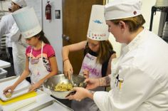 It's officially SUMMER  What better way to celebrate than to register your student for one of our Grace Academy camps? These students have enjoyed a week of Culinary Camp. For more information on available camps, and scholarships, please leave a comment below. — with Brittany Church Blanton.