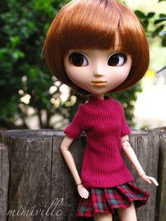 My Pullip doll! So happy to have her. :D  Outfit available on etsy