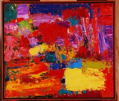 """Petro Lebedynets; Oil, 2008, Painting """"Composition"""""""