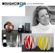 DesignCircus Stationary, in via Marghera, presenta dal 14 al 30 aprile i vasi/scultura realizzati da Donatella Pigato, oggetti d'arte che raccontano il mondo ed escono dal loro ruolo e dalla loro funzione.