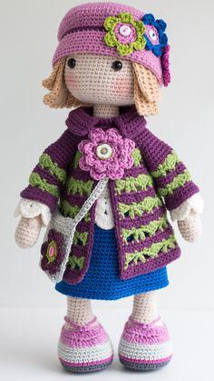 TILDA Crochet Doll - Amigurumi doll - Stuffed doll - Handmade doll - Interior doll - Crochet toy - Handmade toy - Baby Gift