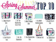 Spring/Summer Top 10  *Click on the picture or visit www.ashsamazingbags.com to see more!